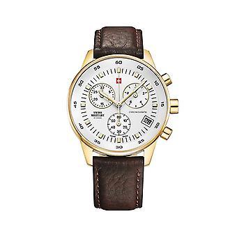 Reloj masculino militar suizo por Chrono SM30052.05, cuarzo, 40 mm, 5ATM