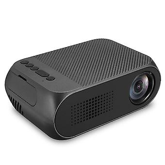 YG320 TFT LCD Projector HD 1080P LED Projector Multiple Ports Built-in Speaker Portable Smart Home T