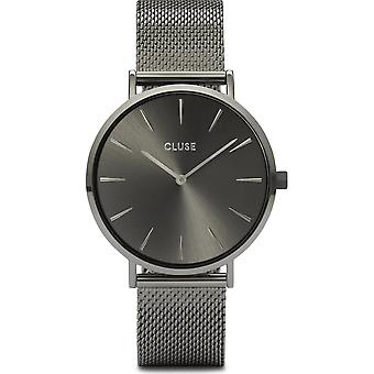 Cluse CW0101201022 Women's Boho Chic Mesh Dark Grey Wristwatch