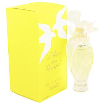 L'air Du Temps Eau De Toilette Spray With Bird Cap By Nina Ricci 1.7 oz Eau De Toilette Spray With Bird Cap