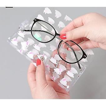 Muoviset silmälasit Suojakotelo / Aurinkolasit Laatikko, Metallipainike & Hedelmäeläin
