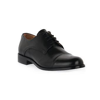Exton black calf shoes