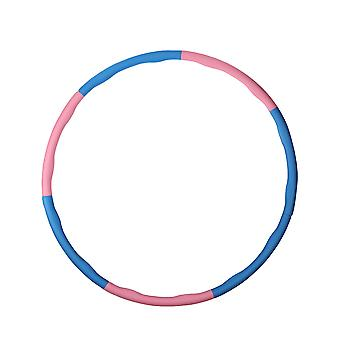Homemiyn Removable Foam Hula Hoop, 1.1kg Massage Bump, Adjustable Slimming Hoop, Abdominal Trainer Exercise Hoop 95cm Wide