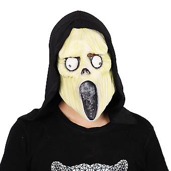 Halloween Ghost Festival Horror Mask Masquerade Screaming Mask Cosplay Props