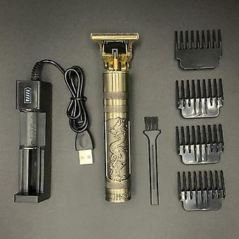 T Hair Clipper Electric Hair Cordless Shaver Trimmer