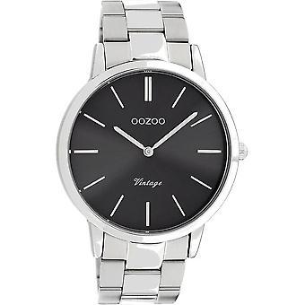 Oozoo - Men's Watch - C20021 - Silver Grey