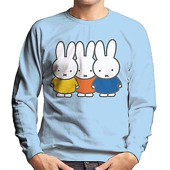 Miffy Trio Men's Sweatshirt