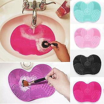 Silicone Trucco Spazzola Più pulita Foundation Trucco Spazzola Scrubber Board Pad Make Up Washing Brush Gel Cleaning Mat Strumento mano