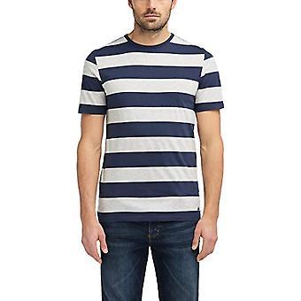 MUSTANG Boldstripe T-Shirt, Multicolor (Stripe 11209), Medium Men's