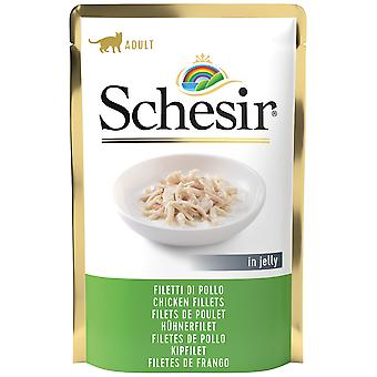 Schesir Chicken Fillets in Jelly (Cats , Cat Food , Wet Food)
