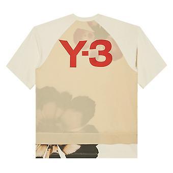 Y-3 Graafinen Kukka T-paita