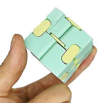 Mini gadget verde bonito único para alívio de ansiedade e kill time x3207