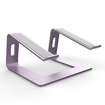 Violetti kannettavan tietokoneen jalusta - kannettavan tietokoneen nousuteline työpöydälle - alumiininen ergonominen kannettava tietokone holde x6550