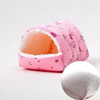 Hamster's nest hedgehog's nest guinea pig's squirrel's bed golden silk bear honey bag colugo winter warm velvet house