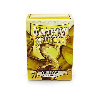 Standardní žluté karty Dragon Shield - 100 rukávů