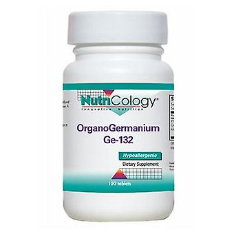 Nutricology/ Allergy Research Group Organogermanium, 100 Tabs