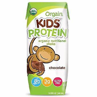 Orgain Pediatric Oral Supplement Orgain Kids Protein Organic Nutritional Shake Chocolate Flavor 8? oz. Ca, Case of 12