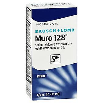Bausch And Lomb Bausch And Lomb Muro 128 5% Ophthalmic Eye Solution, 0.5 oz