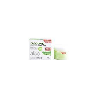 Crema Facial Nutritiva Aloe Vera Babaria (50 Ml)