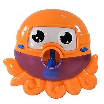 Children Bathing Octopus Electric Bubble Machine, Octopus Shaped Toys for kids Outdoor Bubble