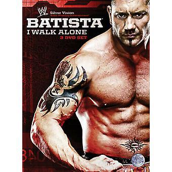 WWE Batista - I Walk Alone DVD (2009) Batista Zertifikat 15 3 Discs Region 2