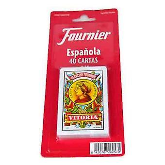 Pack de cartes à jouer espagnoles (40 cartes) Fournier
