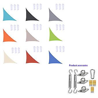 3x3x4.3m/4x4x5.7m/5x5x7.1m Waterproof Sun Shade Sail Triangle For Garden Patio Outdoor Awings Canopy Pool Awning Camping