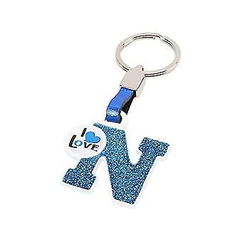 אות N של מחזיק מפתחות
