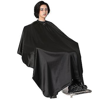 hårklipp frisør salong cape profesjonell vanntett (svart)