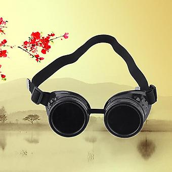 Cyber Goggles Steampunk Glasses Vintage Welding Punk Gothic Victorian