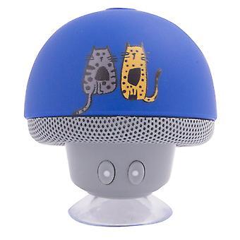 Biggdesign Cats ontworpen marineblauwe Bluetooth-luidspreker