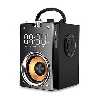 Audio Music Multimedia Mini Loudspeaker Bluetooth Wireless Subwoofer|Portable Speakers(Black)