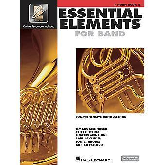 Elementos esenciales para la banda - Libro 2 con Eei