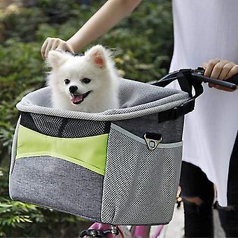 KLOP256 Bike Pet Carrier, Bike Pet Basket, Oxford Cloth | | respiráveis Alça frontal destacável