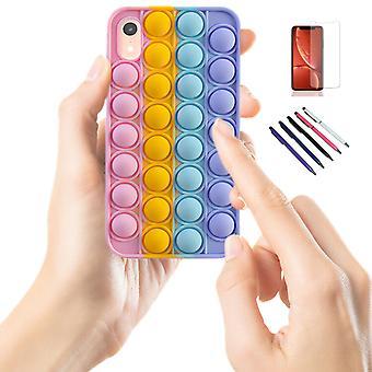 Iphone Xr - Shell / Bescherming / Pop It Fidget
