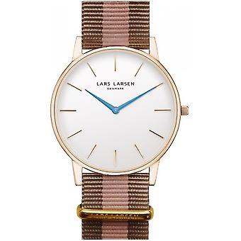 LLarsen (Lars Larsen Two-ColourEd Textile) 147RWD-SNR20 Men's Watch
