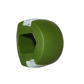 Masseter Trainer Jaw Trainer Kauwen Jawline Fitness Ball Facial Muscle Training Device (Groen)