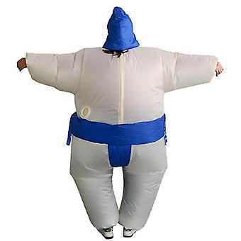 sumo fancy kjole fan oppblåsbar kostyme dress med lue