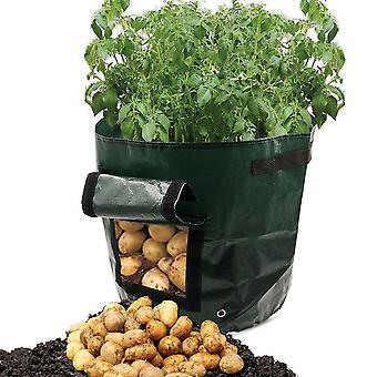2pack Bolsa de plantas Siembra Bolsas de cultivo Bolsas de cultivo de papa Bolsas de cultivo de jardín Bolsa de cultivo