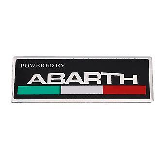 Fiat Abarth 3d Metal Car Sticker, Side And Trunk Wing Emblem Emblem, Stickers For Fiat Abarth, 500 124 125 595, Punto Bravo Scorpion, Automotive Styli