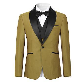 Mile Mens Suits 1 Piece Slim Fit Wedding Suit One Button Formal Blazer Jackets