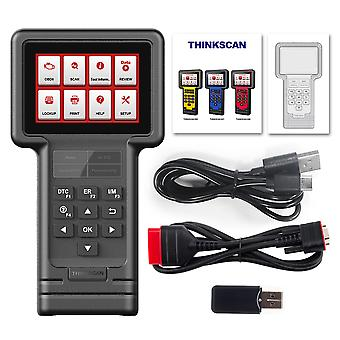 Thinkcar Thinkscan S04 Diagnostic Tool For Ford Obd2 Full System Code Reader Auto Scanner Oil/brake/sas/ets/dpf Reset Services