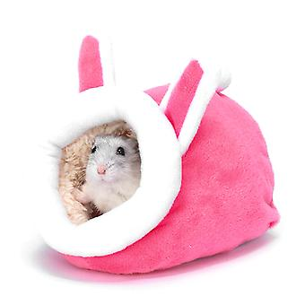 Pieni lemmikki marsu mini bed house hamsteri rotan riippumatto pesä pad lämmin