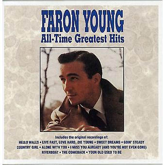 Faron Young - All Time Greatest Hits [CD] USA import