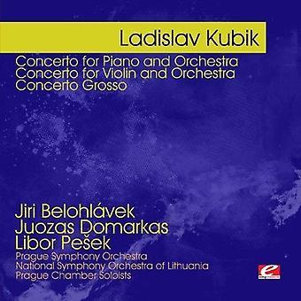 ラディスラフ ・ キュービック - ・ キュービック: 協奏曲ピアノとオーケストラ 【 CD 】 アメリカ輸入