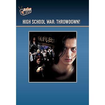 High School War: Throwdown [DVD] USA import