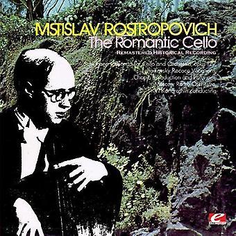 Mstislav Rostropovich - The Romantic Cello [Remastered] [CD] USA import