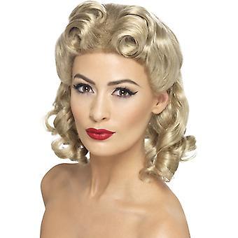 40 wig Kochanie Blondynka z loki