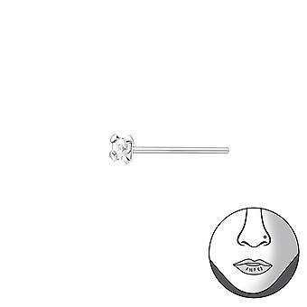 1.5 mm vierkant Bend aanpassen aan neus Studs - 925 Sterling Zilver neus Studs - W34798X