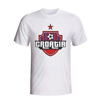 Croatia tara logo tricou (alb)-copii